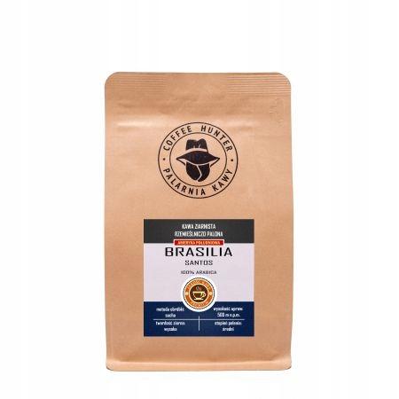 Kawa ziarnista rzemieślnicza Brasilia Santos 1kg