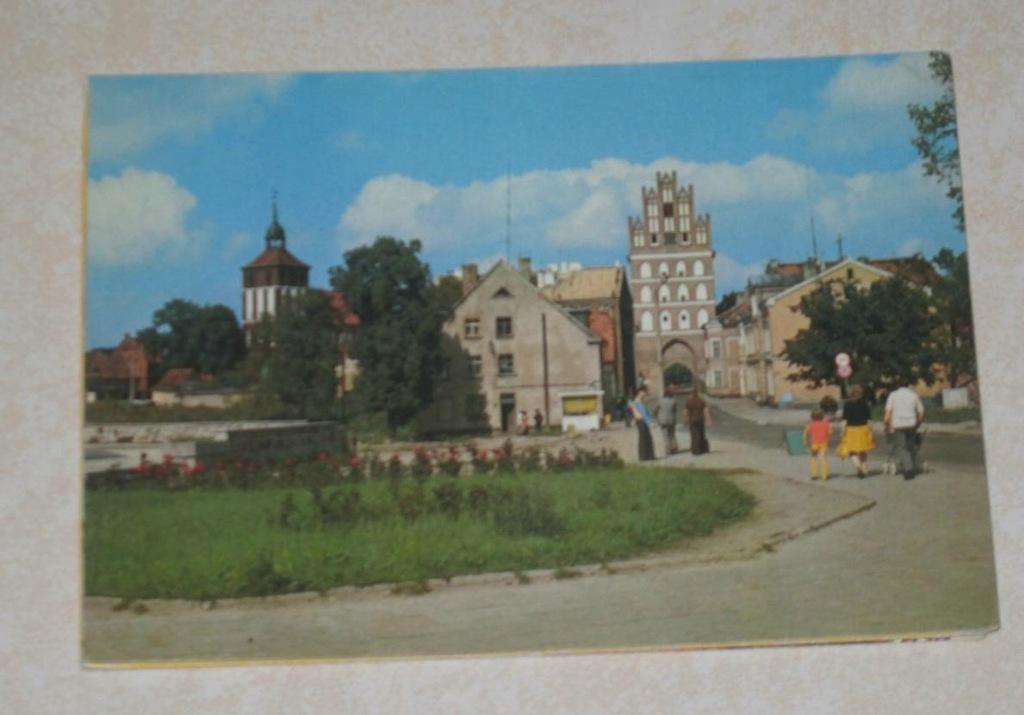 Zestaw 9 pocztówek Bartoszyce (z983)