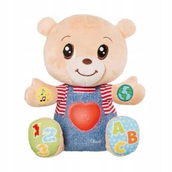 Chicco Teddy miś okazujący uczucia PL/EN 7947