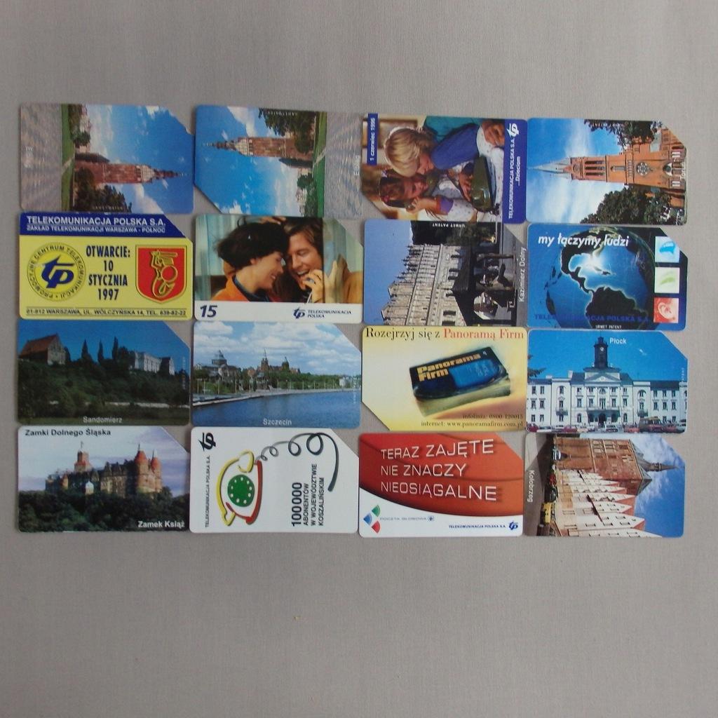 Zestaw kart telefonicznych PolskaMIX BCM(147E)(RZ)