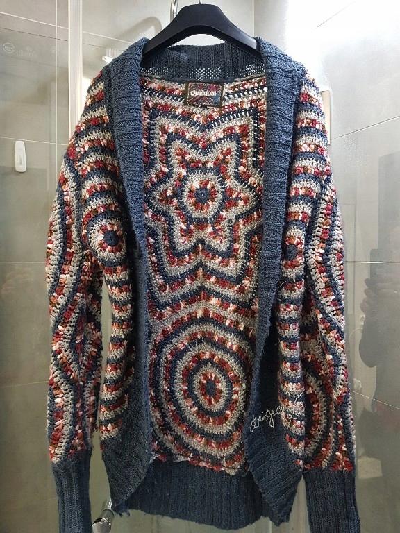 Desiqual kardigan swetr L