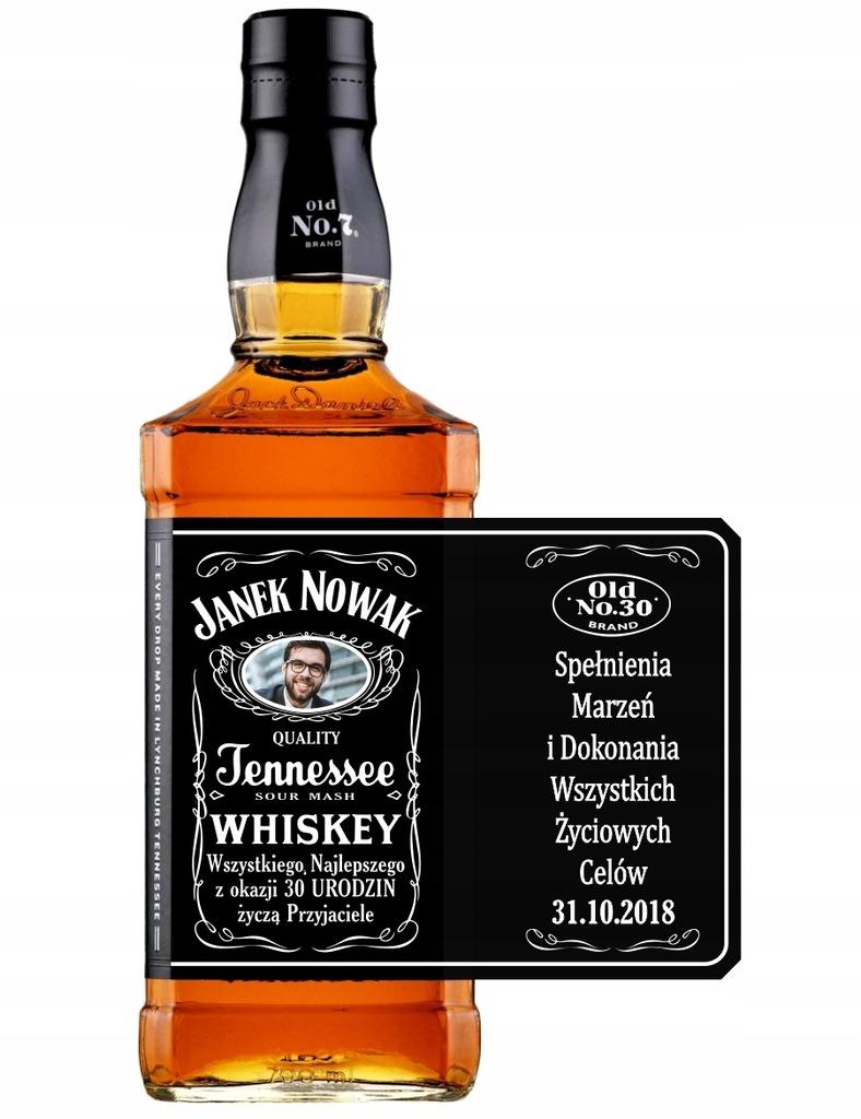 Prezent Urodziny Jack Daniels Naklejka Na But 2szt 8202957651