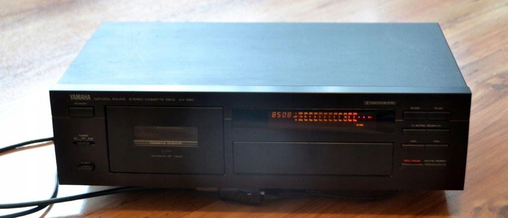 Magnetofon YAMAHA KX-580 Dolby-S