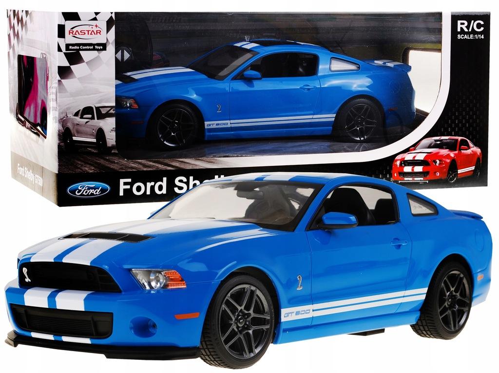 Autko R C Ford Shelby Mustang Gt500 Niebieski 1 14 7623439308 Oficjalne Archiwum Allegro