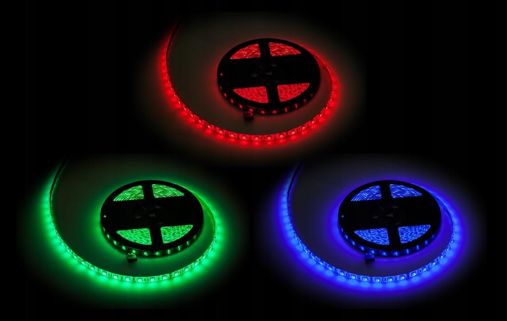 Sznur diodowy 5m Rebel RGB (300x5050 SMD) , wodoo