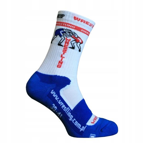 Skarpety zapaśnicze sportowe Berkner Blue 39-41