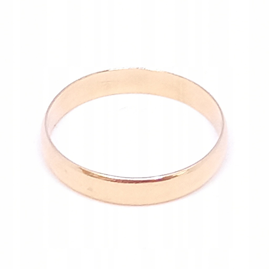 Złota obrączka   p. 585   2.78 g   r. 25