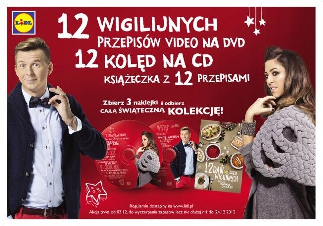 Natalia Kukulska -12 Kolęd CD + DVD Przepisy Dania