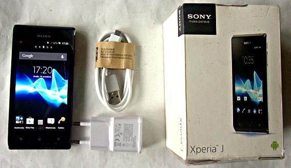 Sony Xperia J ST26i +nowa ładowarka (komplet)