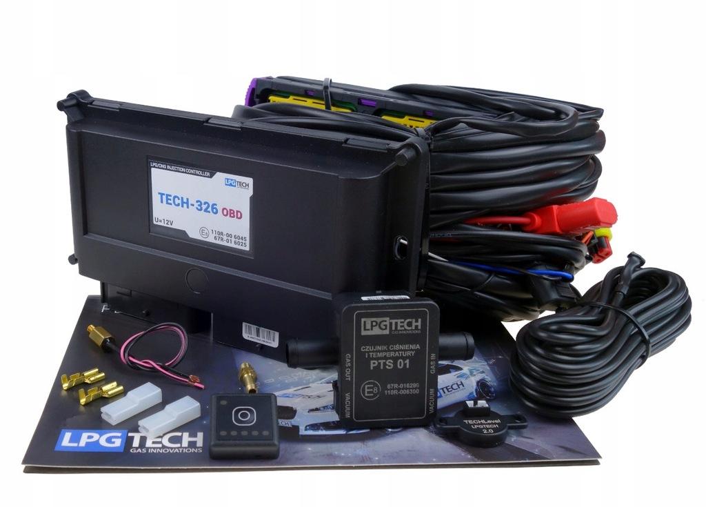 Sekwencja Lpg-TECH 326 OBD 6-Cyl Elektronika Wtrys