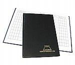 Dziennik korespondencyjny Warta A4 300k. czarny (2