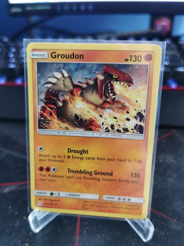 Groudon - 113/236 - Rare
