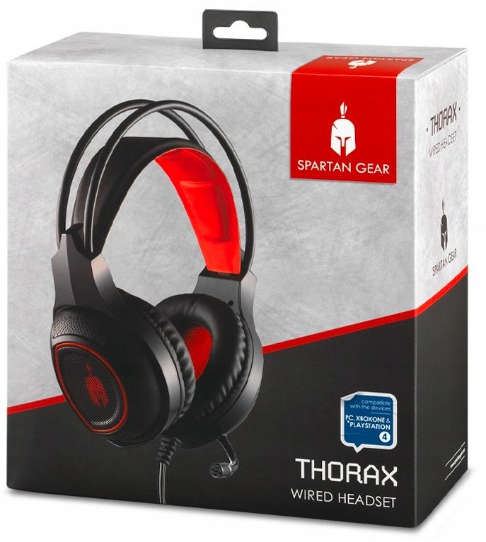 Słuchawki Thorax Spartan Gear Headset PC PS4 XOne