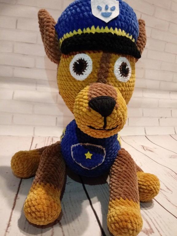 Chase Psi Patrol maskotka zabawka szydełko