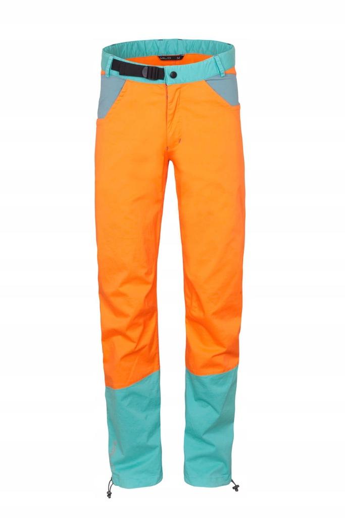 Spodnie wspinaczkowe męskie JULIAN orange Milo XXL
