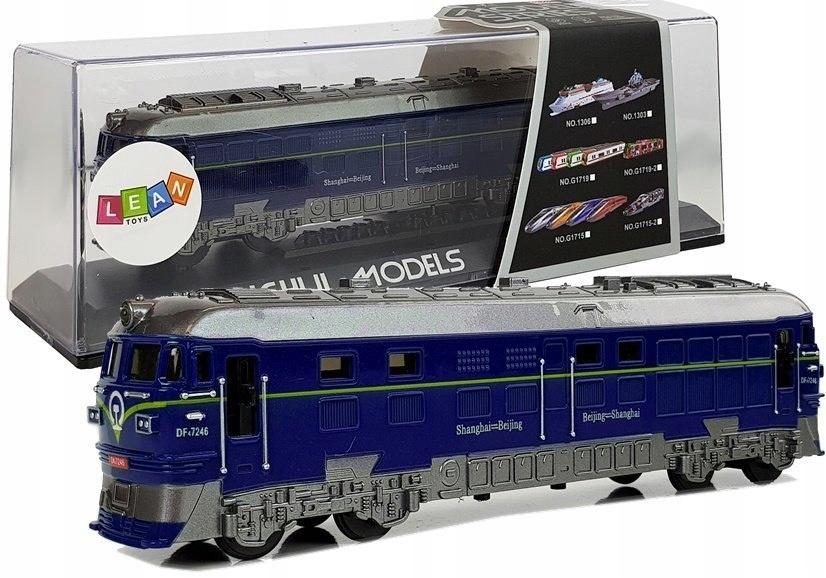 Pociąg Lokomotywa z Naciągiem Światła i Dźwięk