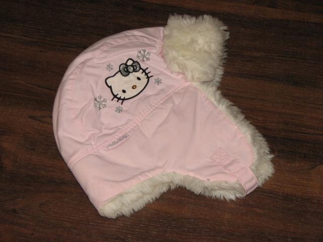 H&M Hello Kitty zjawiskowa czapka 122 128 nowa