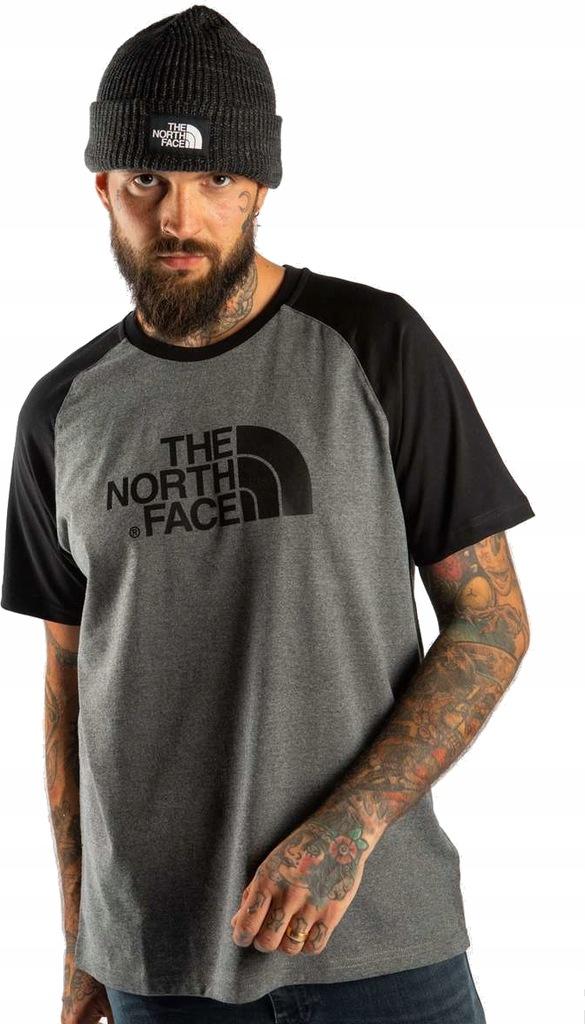 THE NORTH FACE RAGLAN EASY TEE (S) Męskie Koszulka
