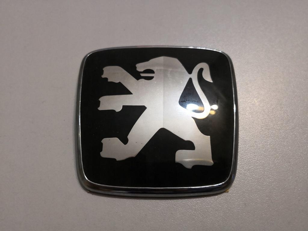 Emblemat znaczek maski klapy PEUGEOT