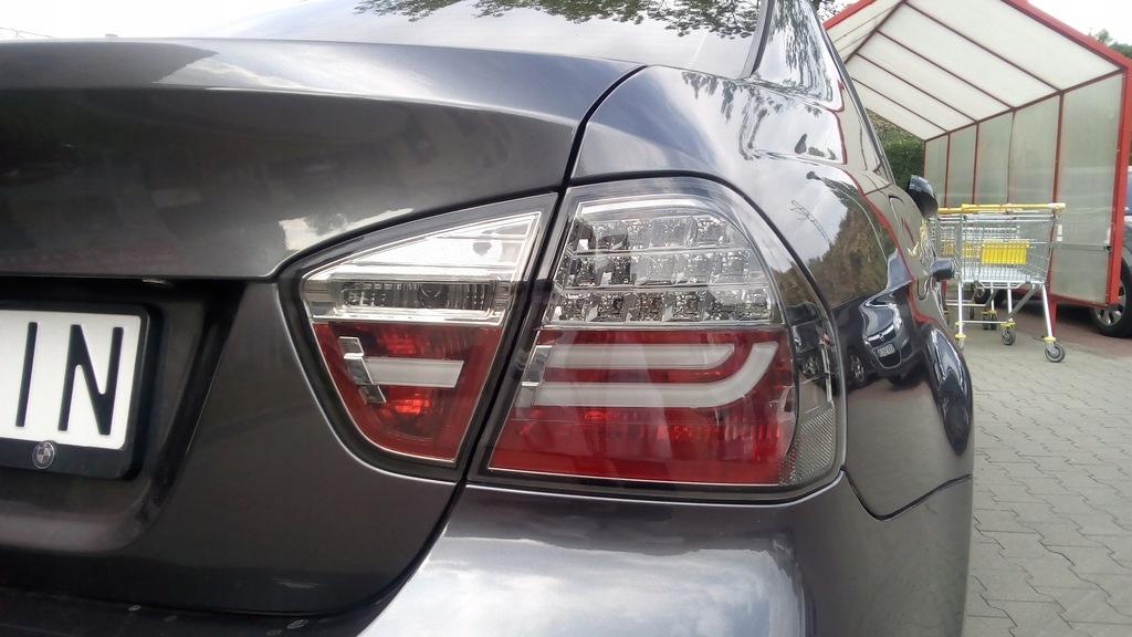 bmw e92 lampy przedlift led