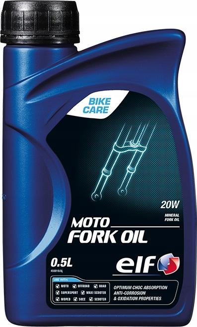 Olej ELF 20W Moto Fork do amortyzatorów 500ml