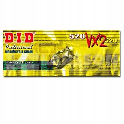 Łańcuch napędowy DID G&B 520 VX2/100 2153690