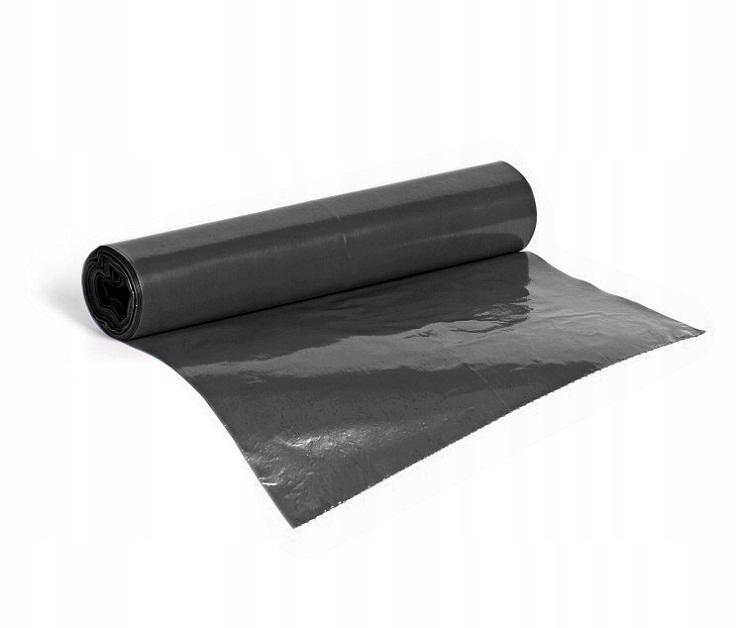 worki na śmieci mocne czarne 60L 10szt