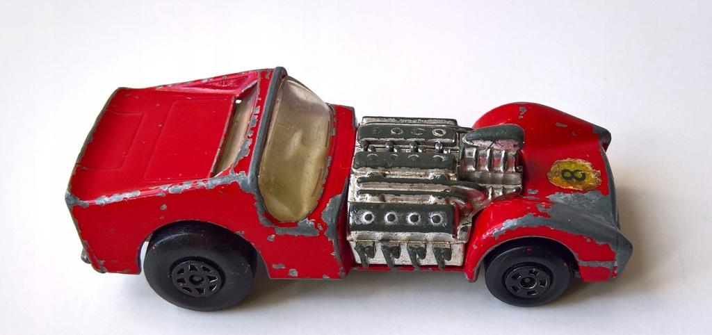 MATCHBOX-ROAD DRAGSTER