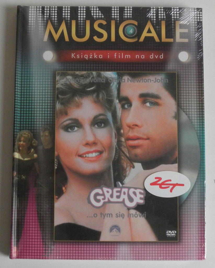DVD GREASE JOHN TRAVOLTA NEWTON-JOHN MUSICALE 4