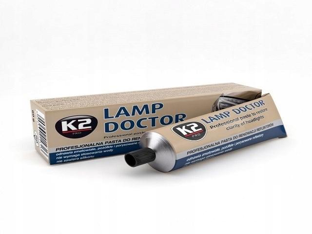 K2 LAMP DOCTOR pasta do renowacji reflektorów 60g