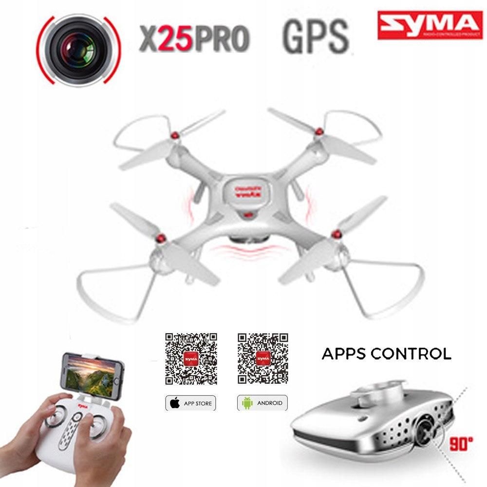 Dron Syma X25pro x25 pro GPS follow me FPV