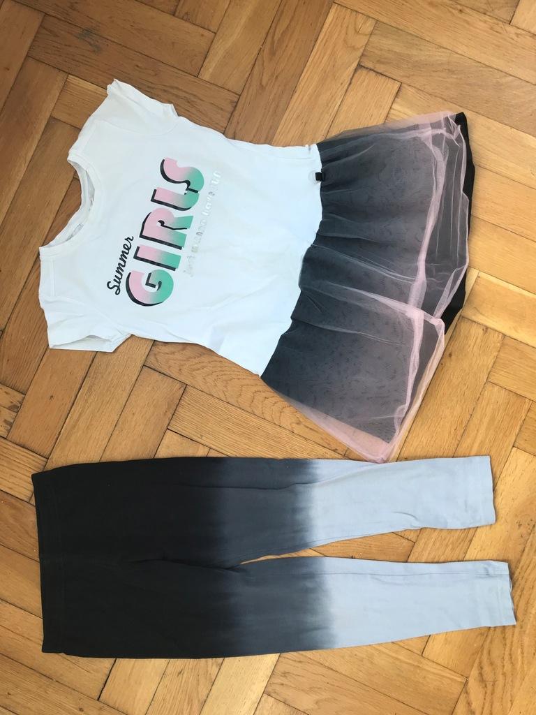 COCCODRILLO OMBRE sukienka + legginsy 122
