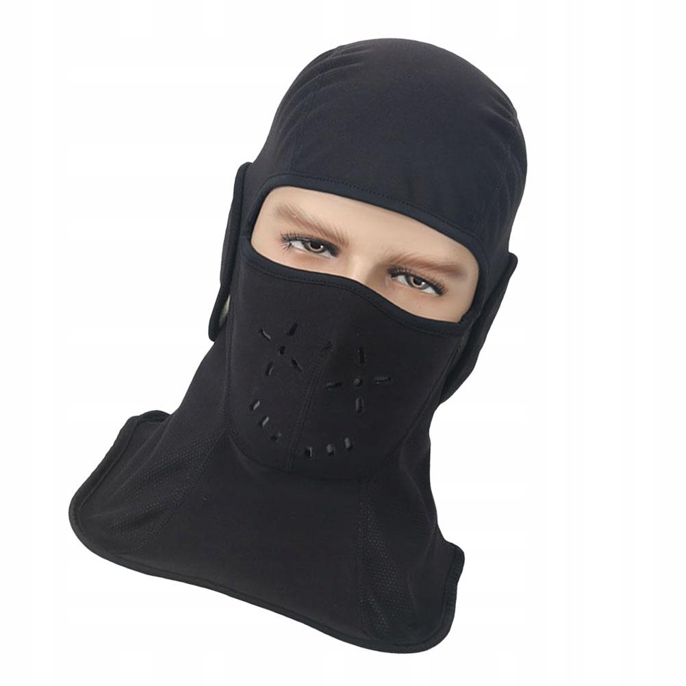 Wiatroodporna czapka z kapturem Przydatna ciepła c