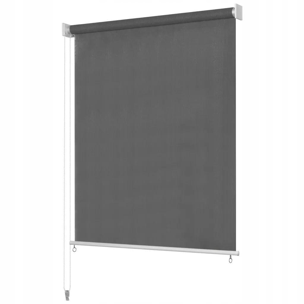 Roleta Zewnętrzna 100x140 cm Antracytowa