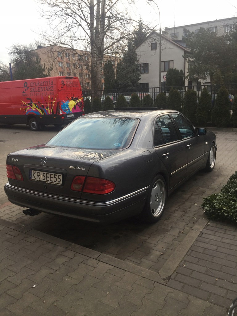 Mercedes E55 Amg Oryginal Salon Pl Wydech Mg Motor 7896638271 Oficjalne Archiwum Allegro