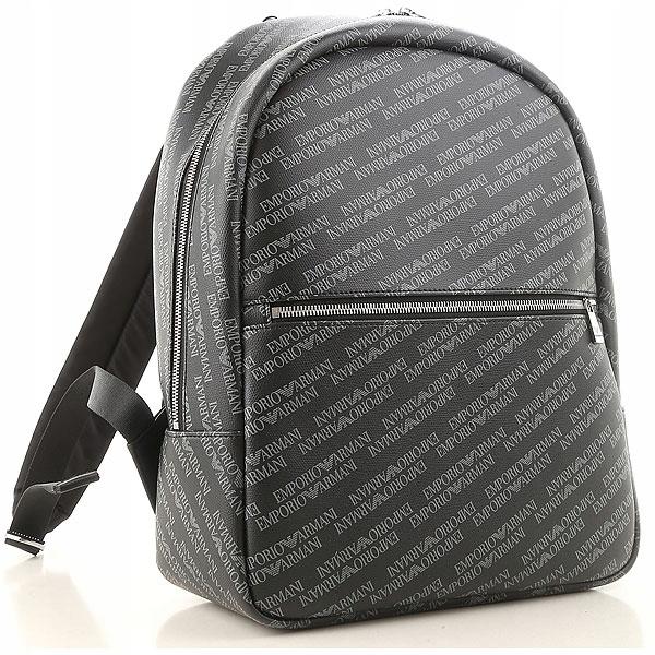 EMPORIO ARMANI markowy plecak NOWOŚĆ 2019 LOGOWANY