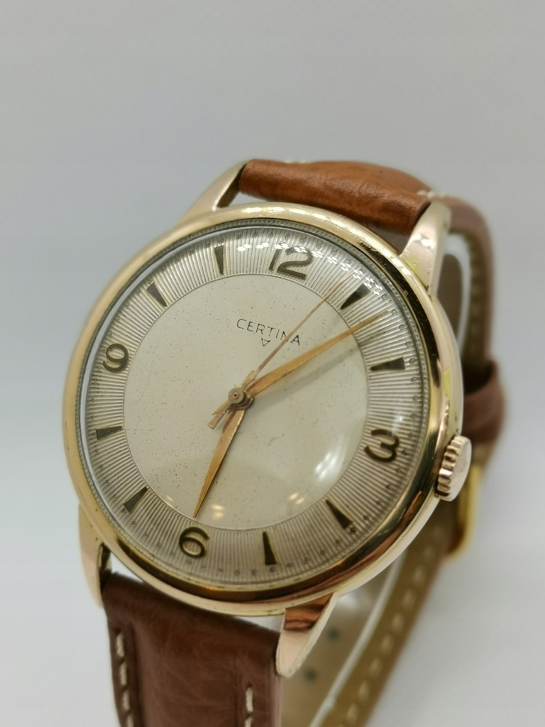 Certina zegarek 38 mm Stan !! Swiss Made lata '50