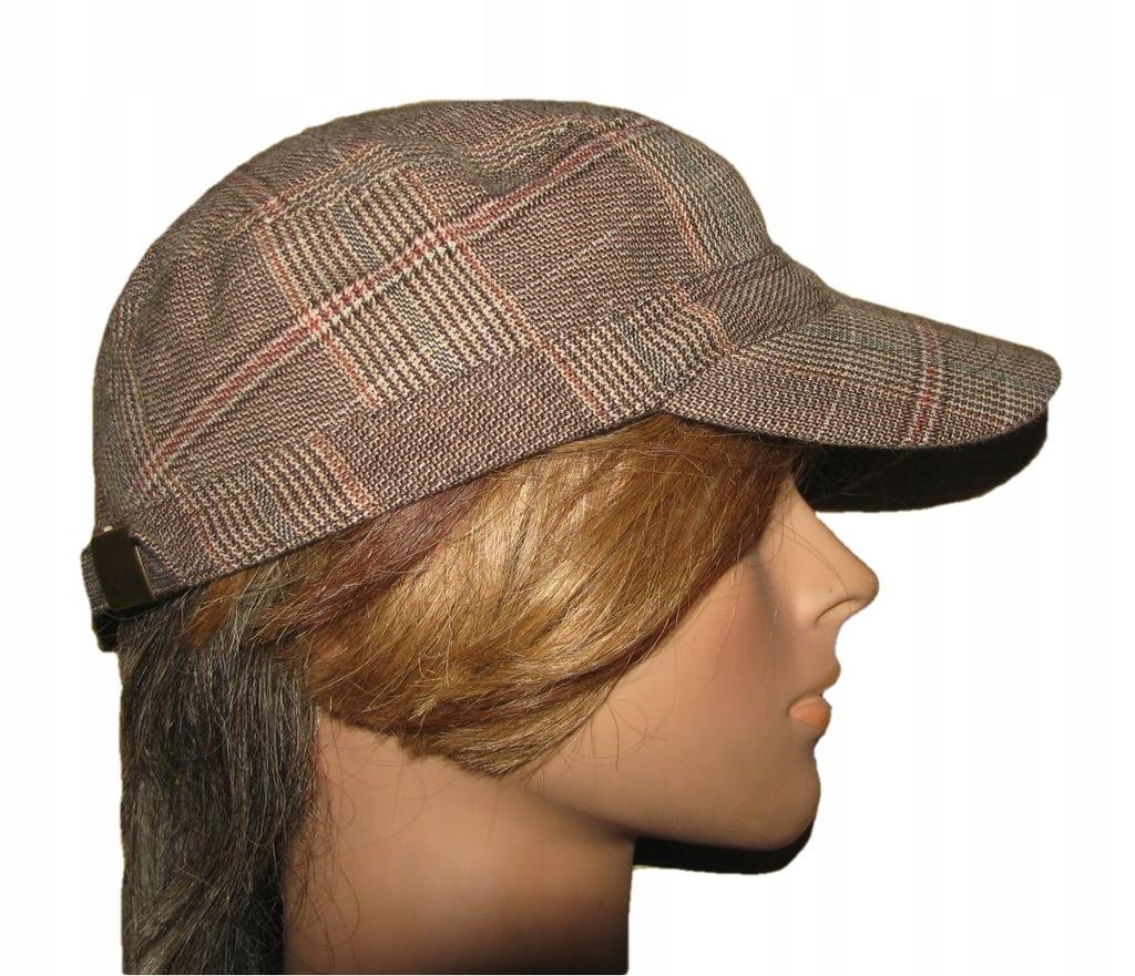 H&M czapka bejsbolówka z bawełny BDB+ unisex