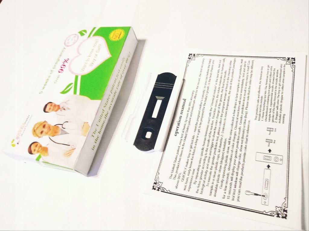 Test Ciazowy Na Plec Dziecka Pierwszy Trymestr Usa 7860699042 Oficjalne Archiwum Allegro