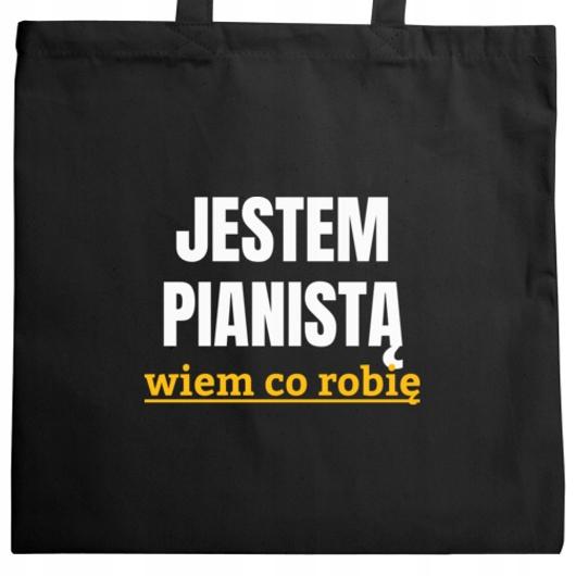 Jestem pianistą wiem co robię torba na zakupy