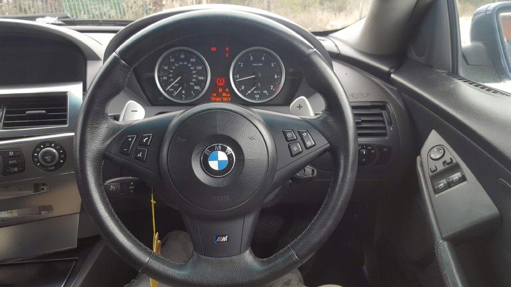 Bmw E60 E63 M5 M6 Kierownica Lopatki Smg Przed Lif 7816536943 Oficjalne Archiwum Allegro