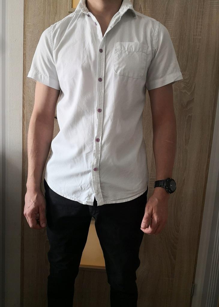 Mega paka ubrań męskich koszule spodnie M