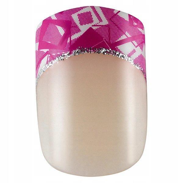PEGGY SAGE Tipsy Idyllic pink&white x24 150064