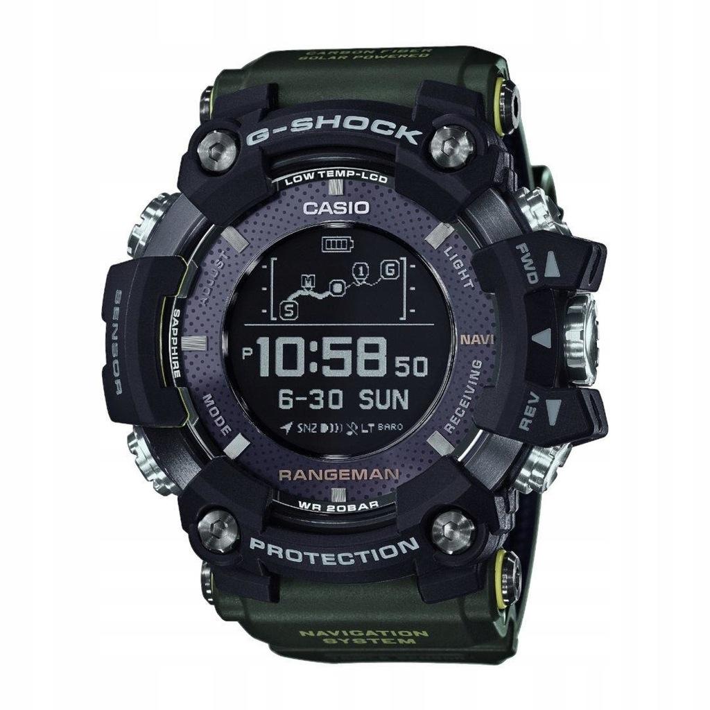 Zegarek Casio G-SHOCK GPR-B1000-1B RANGEMAN GPS