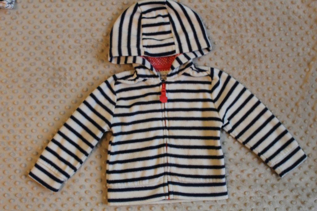 bluza rozpinana polar 9-12 m-cy 74/80 polar