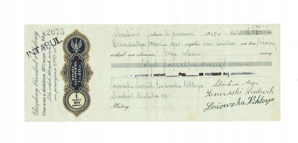 Weksel 13 1935