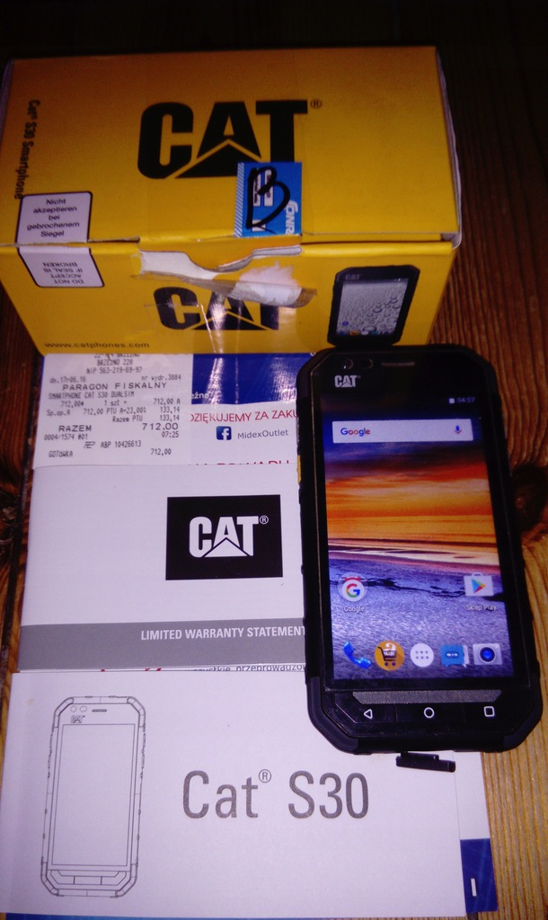 Telefon Smartfon dual sim CAT S30 PANCERNY!!!