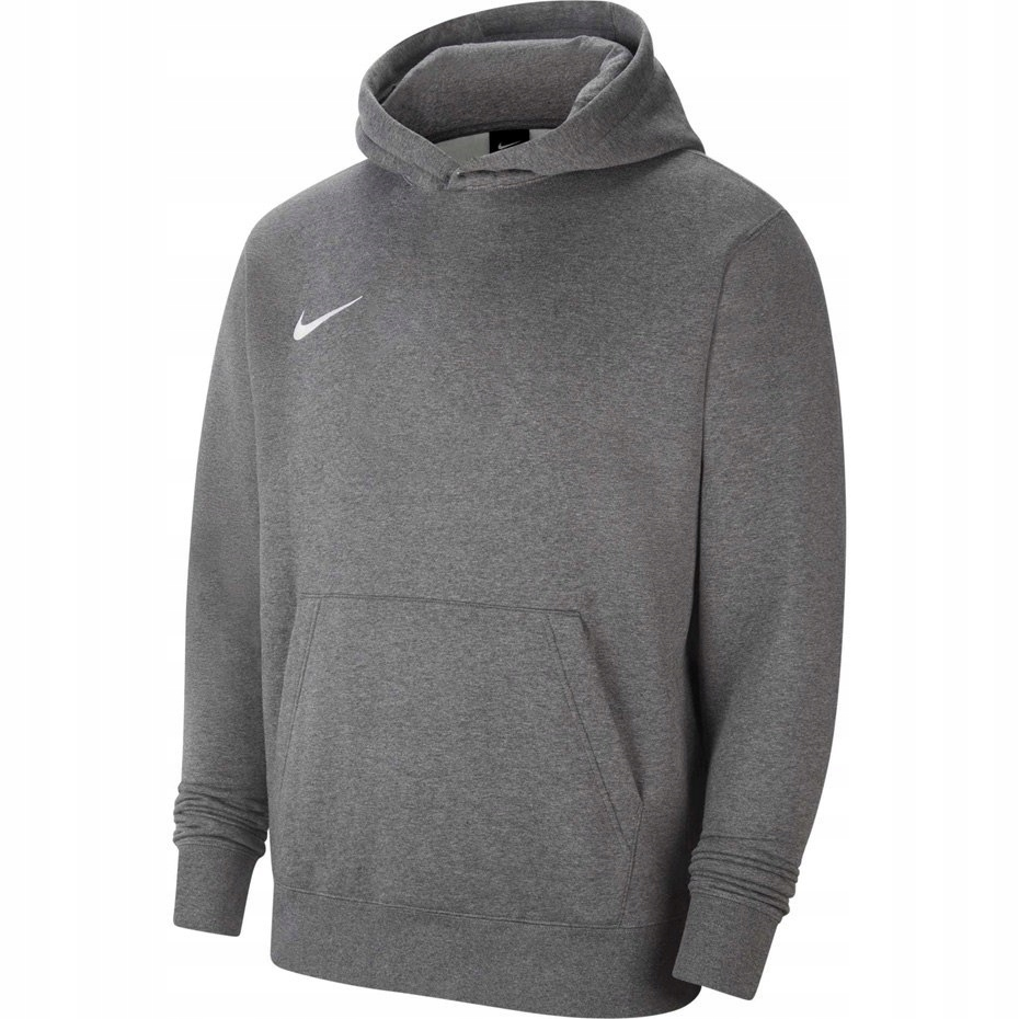 Bluza dla dzieci z kapturem Nike Hoodie szara S