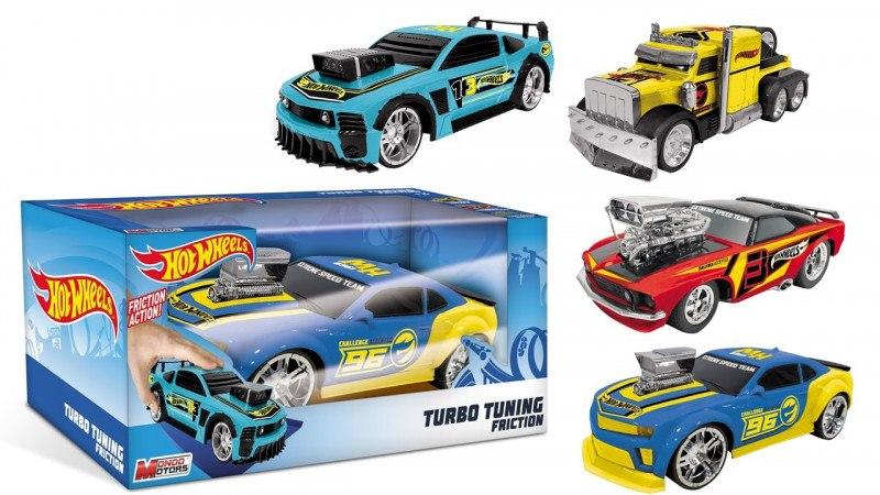 Pojazdy Mondo Hot Wheels frykcja turbo tunning