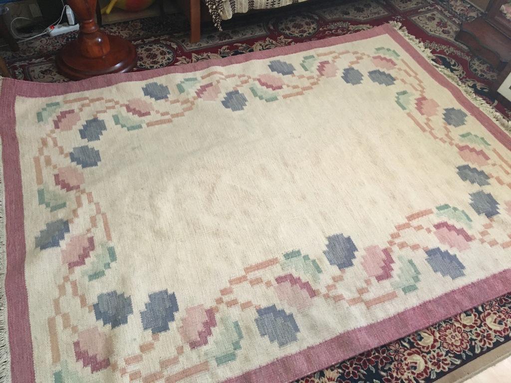 Art Deco/kilim wełniany/dywan